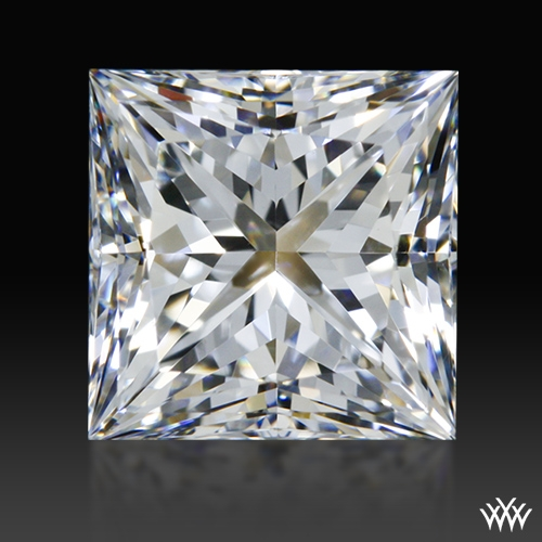 1.066 ct F VS2 A CUT ABOVE® Princess Super Ideal Cut Diamond
