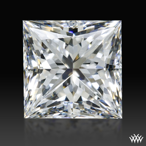 0.948 ct F VVS2 A CUT ABOVE® Princess Super Ideal Cut Diamond