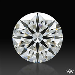 1.037 ct G SI1 A CUT ABOVE® Hearts and Arrows Super Ideal Round Cut Loose Diamond