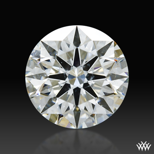 1.071 ct H SI1 A CUT ABOVE® Hearts and Arrows Super Ideal Round Cut Loose Diamond