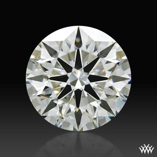 1.105 ct J SI1 A CUT ABOVE® Hearts and Arrows Super Ideal Round Cut Loose Diamond