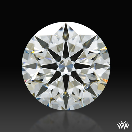 1.087 ct H SI1 A CUT ABOVE® Hearts and Arrows Super Ideal Round Cut Loose Diamond