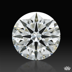0.588 ct G VS2 A CUT ABOVE® Hearts and Arrows Super Ideal Round Cut Loose Diamond