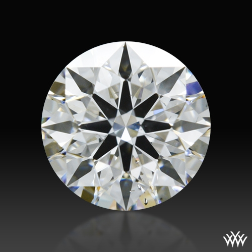 0.458 ct G SI1 A CUT ABOVE® Hearts and Arrows Super Ideal Round Cut Loose Diamond