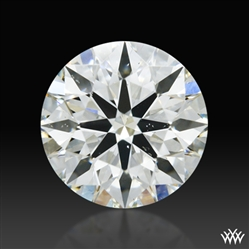 0.43 ct J SI1 A CUT ABOVE® Hearts and Arrows Super Ideal Round Cut Loose Diamond