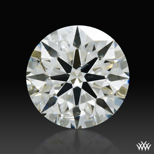 0.416 ct J SI1 A CUT ABOVE® Hearts and Arrows Super Ideal Round Cut Loose Diamond