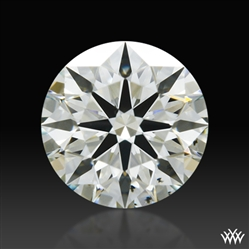 0.513 ct J VS2 A CUT ABOVE® Hearts and Arrows Super Ideal Round Cut Loose Diamond