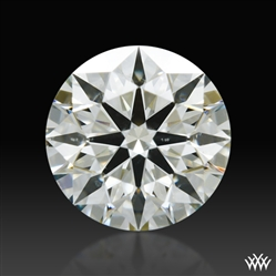 0.595 ct J SI1 A CUT ABOVE® Hearts and Arrows Super Ideal Round Cut Loose Diamond