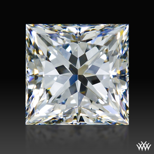 0.895 ct F VS1 A CUT ABOVE® Princess Super Ideal Cut Diamond