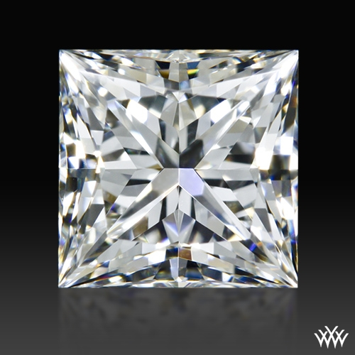0.926 ct G VVS2 A CUT ABOVE® Princess Super Ideal Cut Diamond