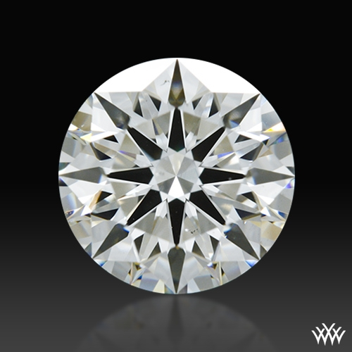 1.185 ct H VS2 A CUT ABOVE® Hearts and Arrows Super Ideal Round Cut Loose Diamond