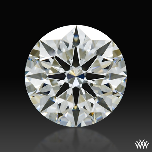 0.912 ct I VS1 A CUT ABOVE® Hearts and Arrows Super Ideal Round Cut Loose Diamond