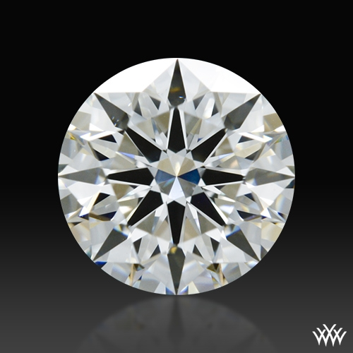 0.901 ct H VS1 A CUT ABOVE® Hearts and Arrows Super Ideal Round Cut Loose Diamond