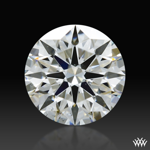 0.416 ct G VS2 A CUT ABOVE® Hearts and Arrows Super Ideal Round Cut Loose Diamond
