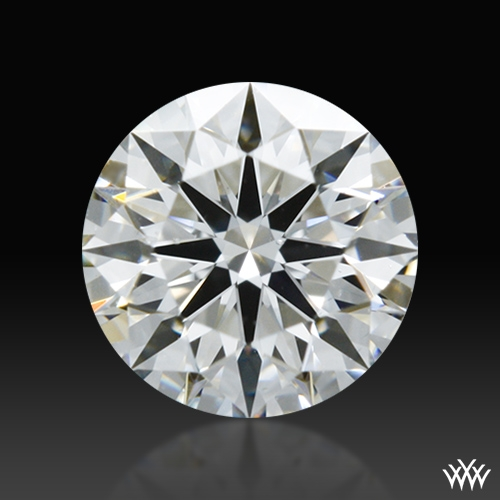 0.403 ct F VS2 A CUT ABOVE® Hearts and Arrows Super Ideal Round Cut Loose Diamond