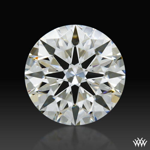 0.721 ct I VS2 A CUT ABOVE® Hearts and Arrows Super Ideal Round Cut Loose Diamond