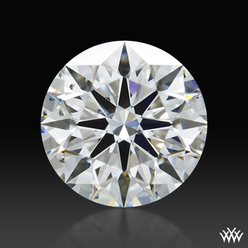 0.823 ct E SI1 A CUT ABOVE® Hearts and Arrows Super Ideal Round Cut Loose Diamond