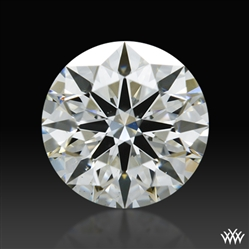 0.646 ct I VS2 A CUT ABOVE® Hearts and Arrows Super Ideal Round Cut Loose Diamond