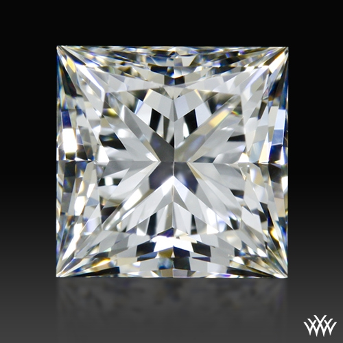 1.021 ct H VS1 A CUT ABOVE® Princess Super Ideal Cut Diamond