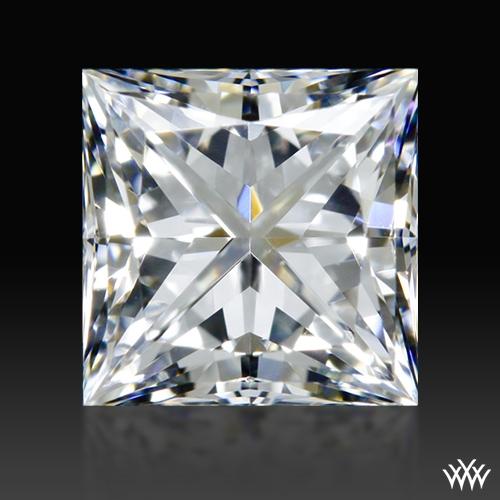 0.718 ct E VS2 A CUT ABOVE® Princess Super Ideal Cut Diamond