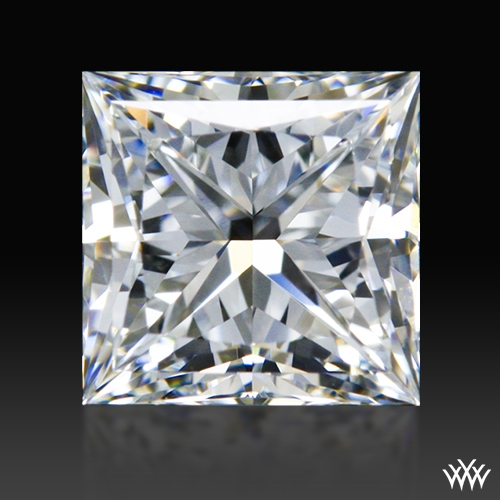 0.722 ct G VVS2 A CUT ABOVE® Princess Super Ideal Cut Diamond