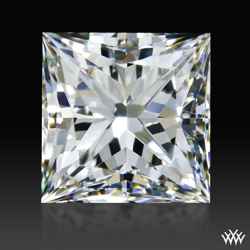 0.894 ct H VVS1 A CUT ABOVE® Princess Super Ideal Cut Diamond