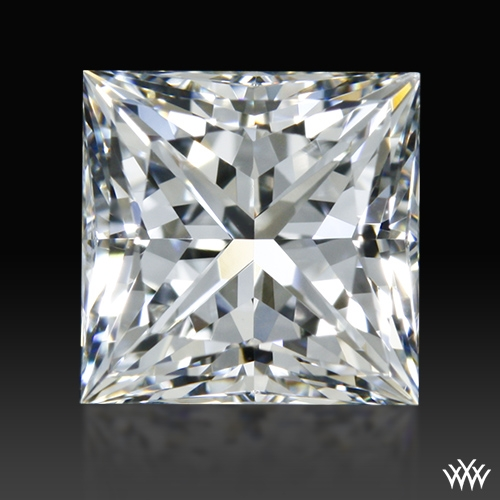 0.963 ct H VS1 A CUT ABOVE® Princess Super Ideal Cut Diamond