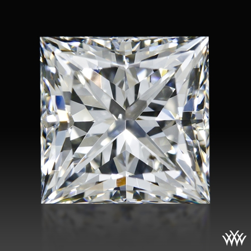 1.246 ct H SI1 A CUT ABOVE® Princess Super Ideal Cut Diamond