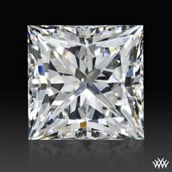 1.246 ct H SI1 A CUT ABOVE® Princess Super Ideal Cut Diamond