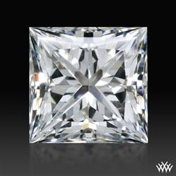 0.805 ct H SI1 A CUT ABOVE® Princess Super Ideal Cut Diamond