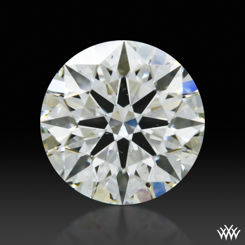 0.728 ct I SI1 A CUT ABOVE® Hearts and Arrows Super Ideal Round Cut Loose Diamond