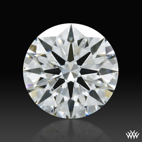 0.661 ct F SI1 A CUT ABOVE® Hearts and Arrows Super Ideal Round Cut Loose Diamond