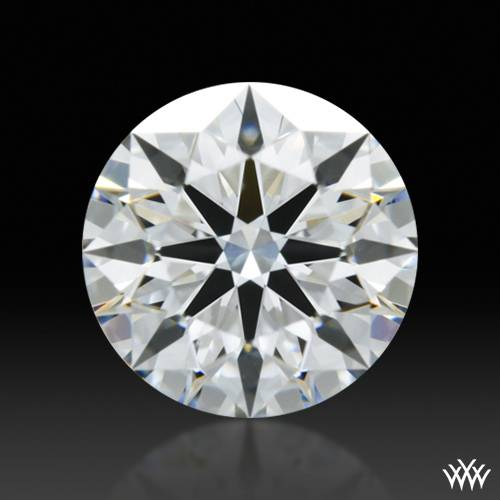 0.648 ct E SI1 A CUT ABOVE® Hearts and Arrows Super Ideal Round Cut Loose Diamond