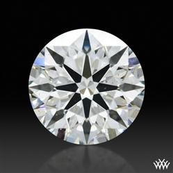 0.698 ct G SI1 A CUT ABOVE® Hearts and Arrows Super Ideal Round Cut Loose Diamond