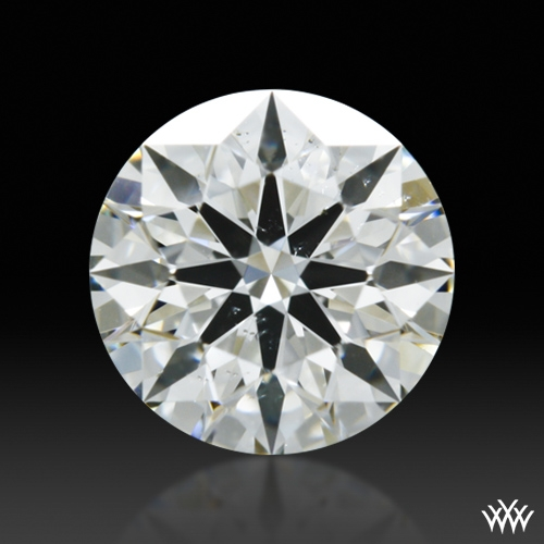 0.644 ct I SI1 A CUT ABOVE® Hearts and Arrows Super Ideal Round Cut Loose Diamond