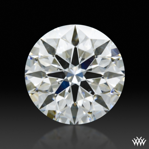 0.571 ct F SI1 A CUT ABOVE® Hearts and Arrows Super Ideal Round Cut Loose Diamond
