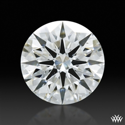 0.536 ct F SI1 A CUT ABOVE® Hearts and Arrows Super Ideal Round Cut Loose Diamond