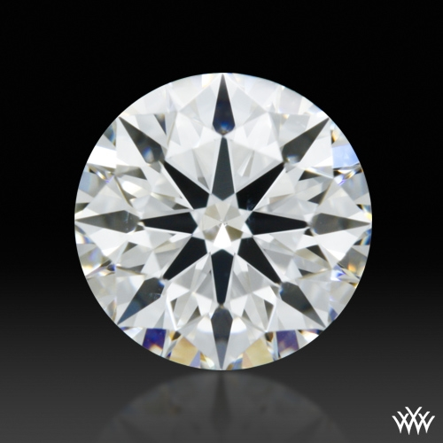 0.541 ct F VS2 A CUT ABOVE® Hearts and Arrows Super Ideal Round Cut Loose Diamond