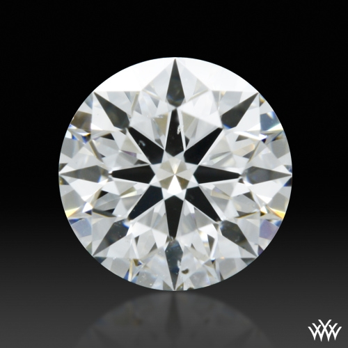 0.553 ct F SI1 A CUT ABOVE® Hearts and Arrows Super Ideal Round Cut Loose Diamond