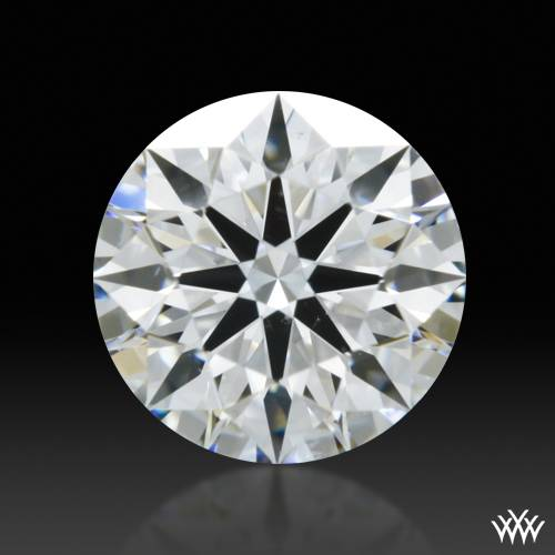 0.545 ct F SI1 A CUT ABOVE® Hearts and Arrows Super Ideal Round Cut Loose Diamond