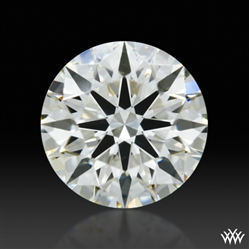 0.503 ct J SI1 A CUT ABOVE® Hearts and Arrows Super Ideal Round Cut Loose Diamond