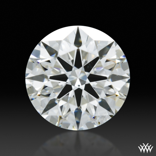 0.515 ct G SI1 A CUT ABOVE® Hearts and Arrows Super Ideal Round Cut Loose Diamond
