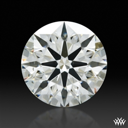 0.553 ct I SI1 A CUT ABOVE® Hearts and Arrows Super Ideal Round Cut Loose Diamond