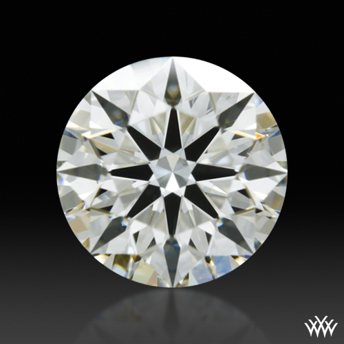 0.563 ct J SI1 A CUT ABOVE® Hearts and Arrows Super Ideal Round Cut Loose Diamond