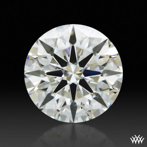 0.556 ct I SI1 A CUT ABOVE® Hearts and Arrows Super Ideal Round Cut Loose Diamond