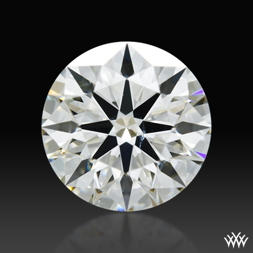0.584 ct J SI1 A CUT ABOVE® Hearts and Arrows Super Ideal Round Cut Loose Diamond