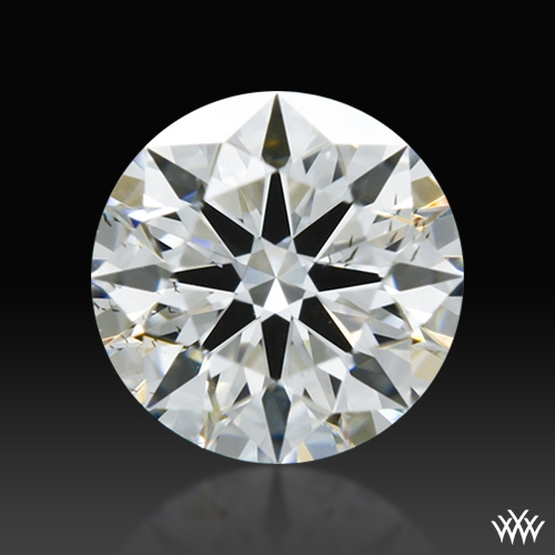 0.461 ct F SI1 A CUT ABOVE® Hearts and Arrows Super Ideal Round Cut Loose Diamond