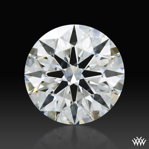 0.425 ct F SI1 A CUT ABOVE® Hearts and Arrows Super Ideal Round Cut Loose Diamond