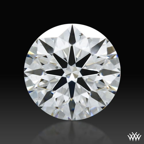 0.426 ct D VS2 A CUT ABOVE® Hearts and Arrows Super Ideal Round Cut Loose Diamond