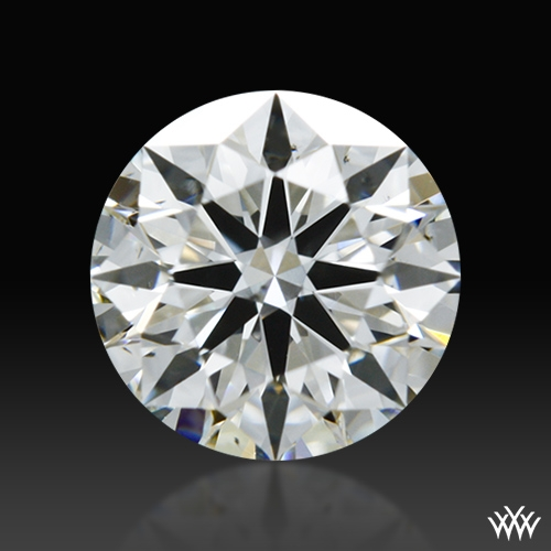 0.48 ct F SI1 A CUT ABOVE® Hearts and Arrows Super Ideal Round Cut Loose Diamond